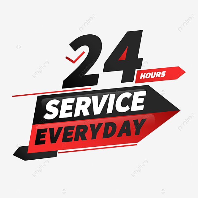 black 24 hour delivery service