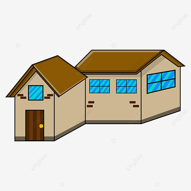 vektor dua rumah animasi bersama rumah tempat tinggal rumah png dan vektor dengan latar belakang transparan untuk unduh gratis https id pngtree com freepng vector of two animated houses together 5518052 html