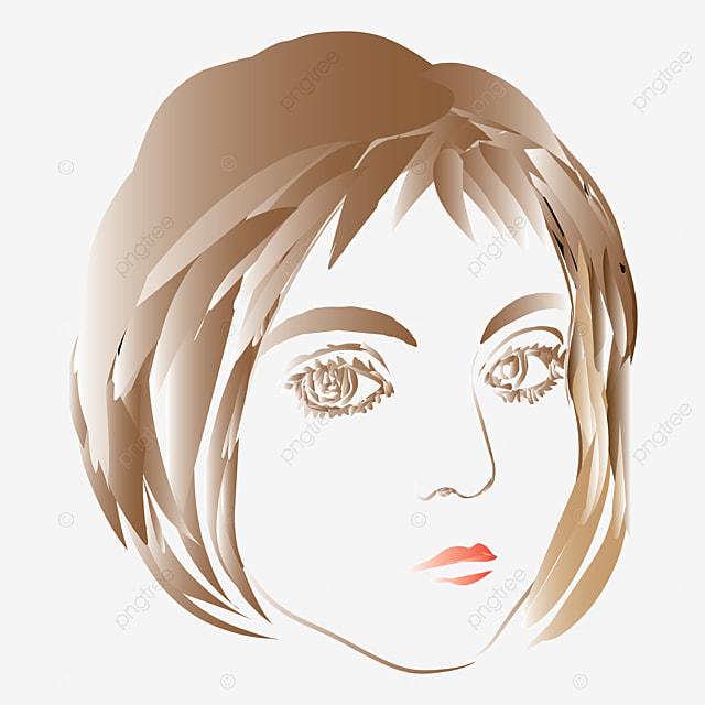 gambar gambar vektor wajah wanita dengan latar belakang putih wanita fesyen orang png dan vektor untuk muat turun percuma https ms pngtree com freepng vector image of woman s face on white background 5522340 html
