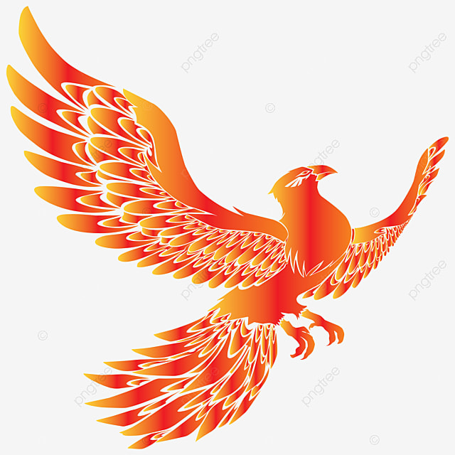 Image Of Phoenix Bird Logo For Esports Team Company Predator E Sport Png And Vector With Transparent Background For Free Download