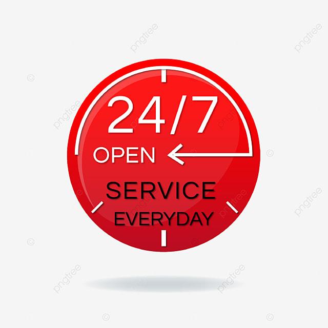 ikon bisnis layanan 24 jam gradien merah 24 jam layanan layanan 24 jam png dan vektor dengan latar belakang transparan untuk unduh gratis pngtree