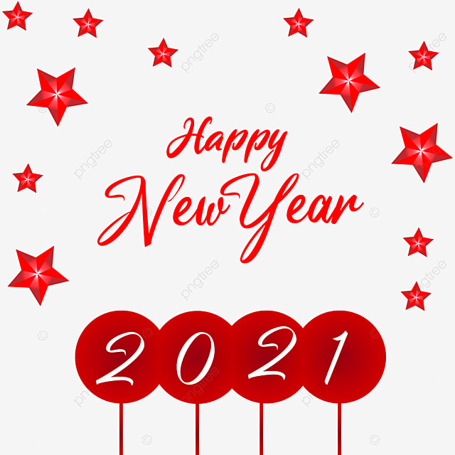 Happy New Year 2021 Transparent Graphics Vector Png Text Effect Free New Year New Year Png And Vector With Transparent Background For Free Download