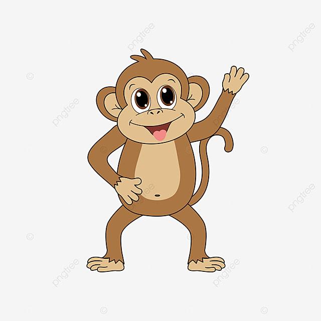 Gambar Monyet Animasi Png Gambar Kartun Lucu Clipart Monyet Coklat Clipart Monyet Binatang Hutan Seni Klip Png Dan Vektor Dengan Latar Belakang Transparan Untuk Unduh Gratis