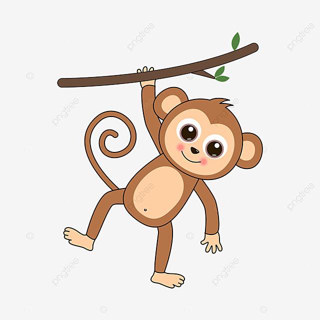 Gambar Monyet Animasi Png Gambar Kartun Bermain Clipart Monyet Monyet Kecil Coklat Clipart Monyet Clipart Kartun Monyet Png Dan Vektor Dengan Latar Belakang Transparan Untuk Unduh Gratis