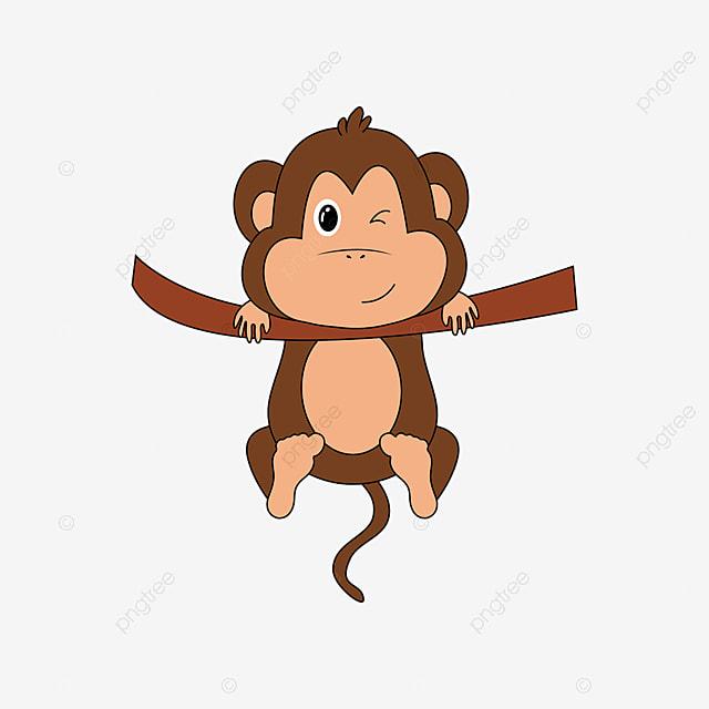 Gambar Monyet Animasi Png Gambar Gambar Kartun Vektor Monyet Comel Monyet Clipart Clipart Monyet Seni Klip Coklat Png Dan Vektor Untuk Muat Turun Percuma