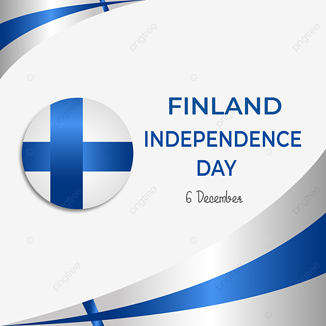 finland independence day flag texture