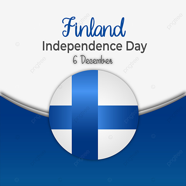 finland independence day gradient flag