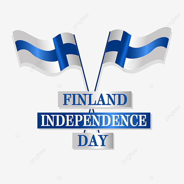 finnish independence day celebration holiday flag flying