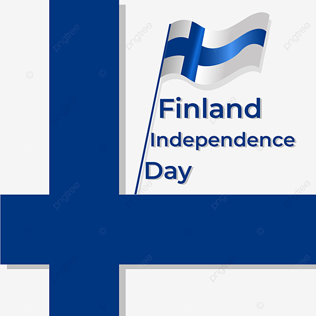 simple texture of flag of finland independence day