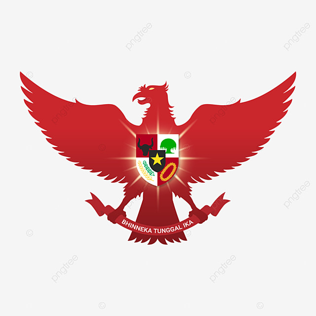 Red Garuda Pancasila Indonesia Bhinneka Tunggal Ika Garuda Garuda Pancasila Pancasila Png And Vector With Transparent Background For Free Download