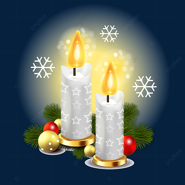 christmas atmosphere candle advent