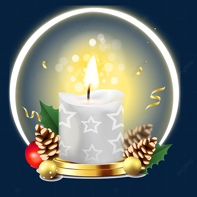christmas candle advent