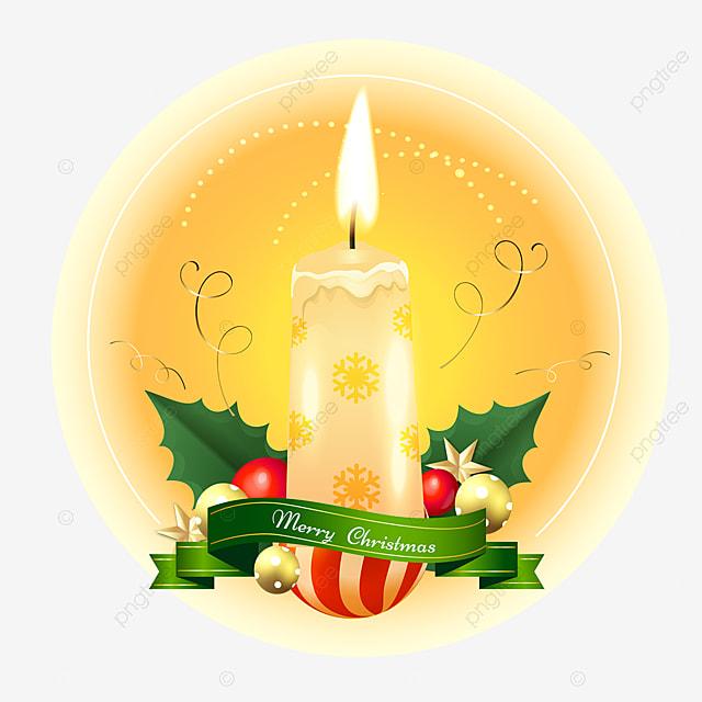 christmas flame candle advent