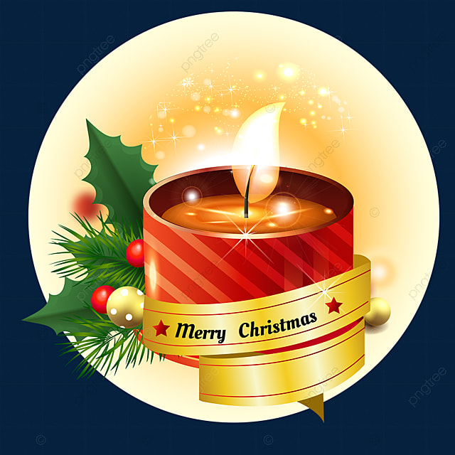 christmas three dimensional candle advent