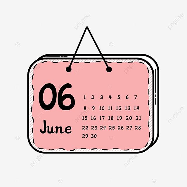 Clipart Calendrier Dessin Anime Rose Calendrier Clipart Calendar Png Et Vecteur Pour Telechargement Gratuit