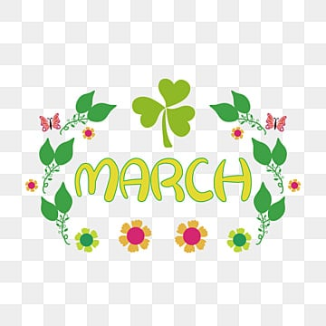 March Clipart Png, Vector, PSD, and Clipart With Transparent Background for  Free Download | Pngtree