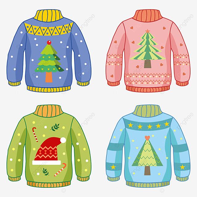 cute christmas pattern sweater