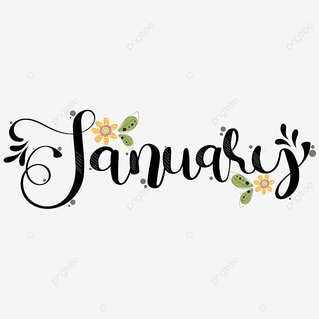 Hello January Month Text Hand Lettering With Flowers And Leaves Hello January January January Month Png And Vector With Transparent Background For Free Download Let me start with free hand lettering fonts, where every curve is a masterpiece and a set of premium script fonts, astounding with aristocratic vibes. pngtree