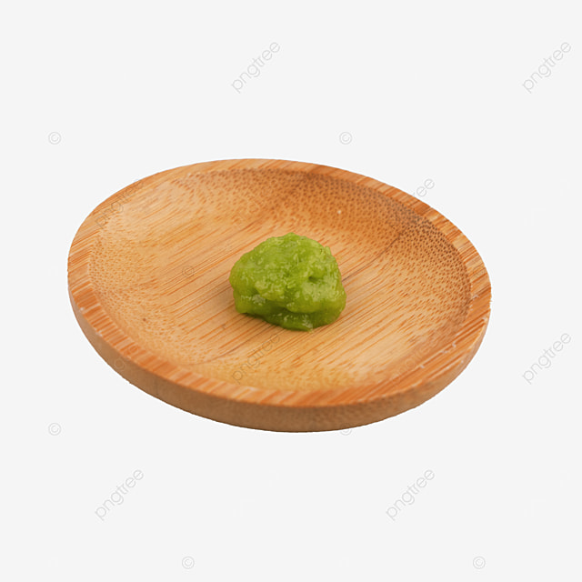 delicious mustard seasoning on wooden plate