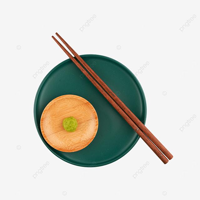 green plate mustard food