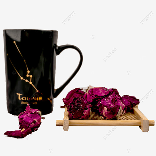 healthy eating and leisure rose tea