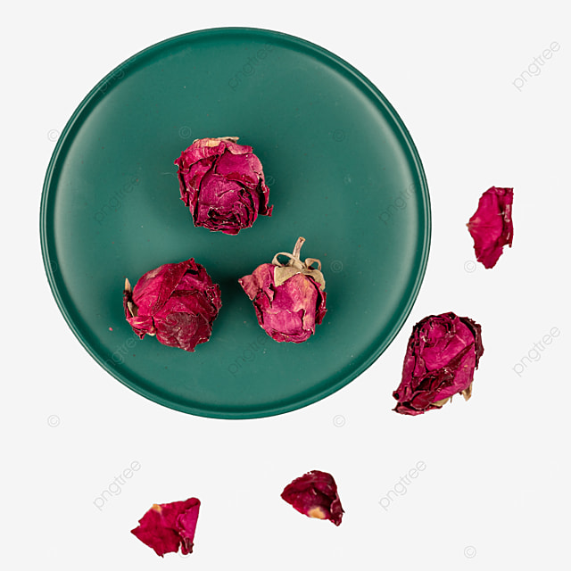 healthy slimming rose tea dried flowers