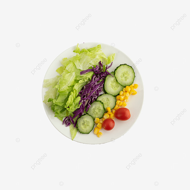 healthy vegetable and fruit salad