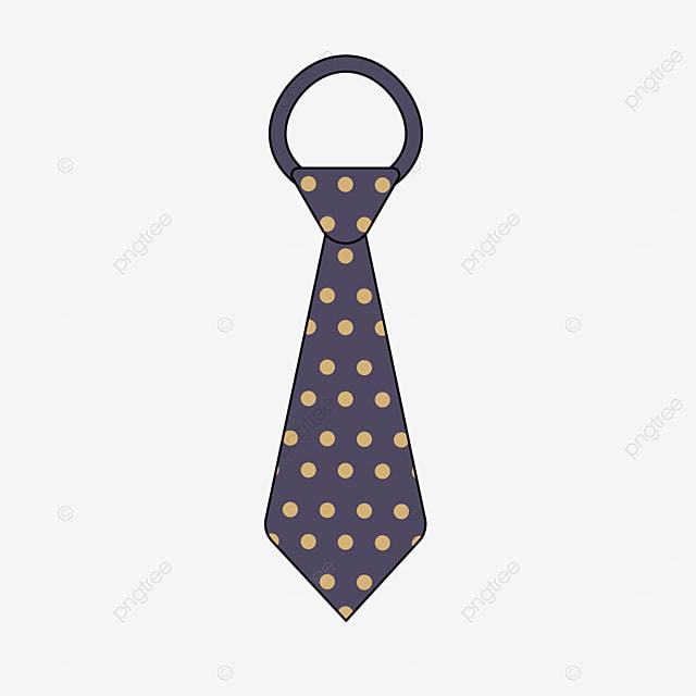 high end business golden polka dot tie clipart
