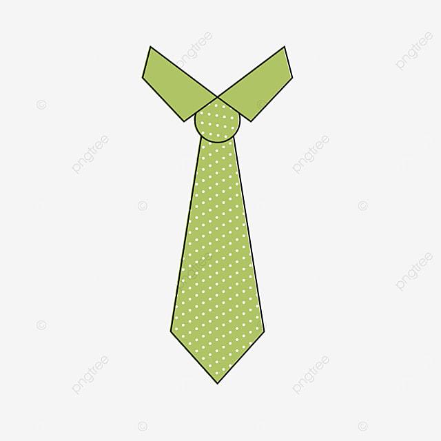 light green polka dot tie clip art