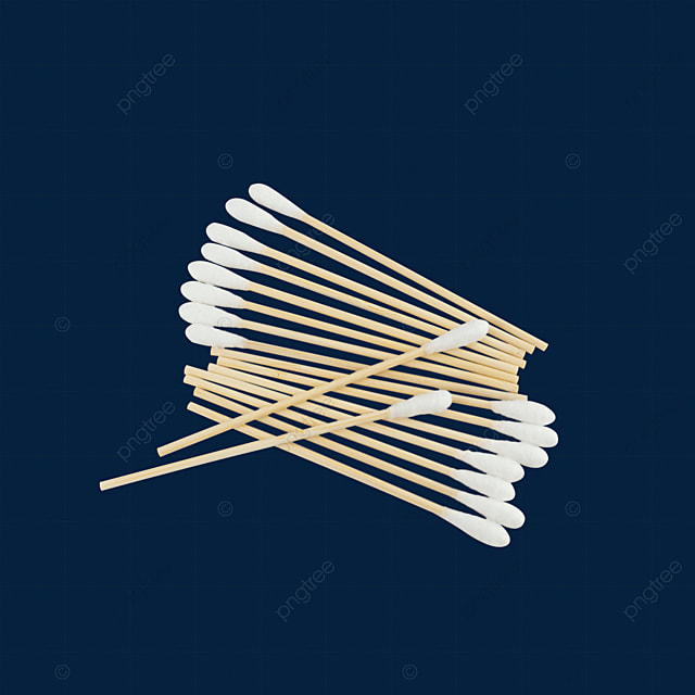 there are two cotton swabs on a row of cotton swabs