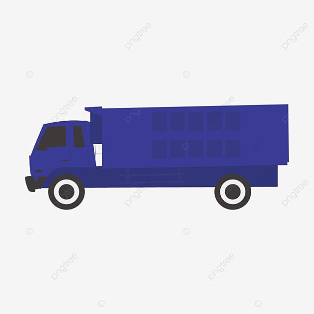 blue truck clip art
