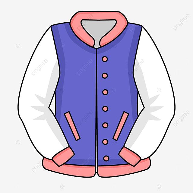 color block jacket clip art