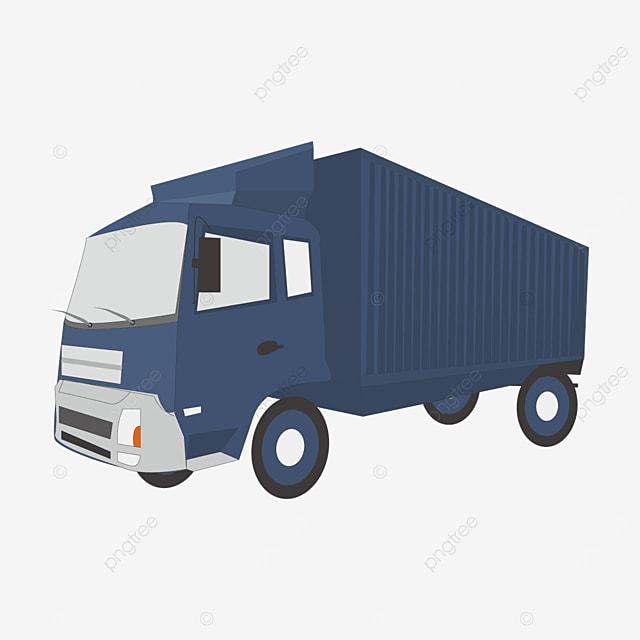 dark blue truck clip art
