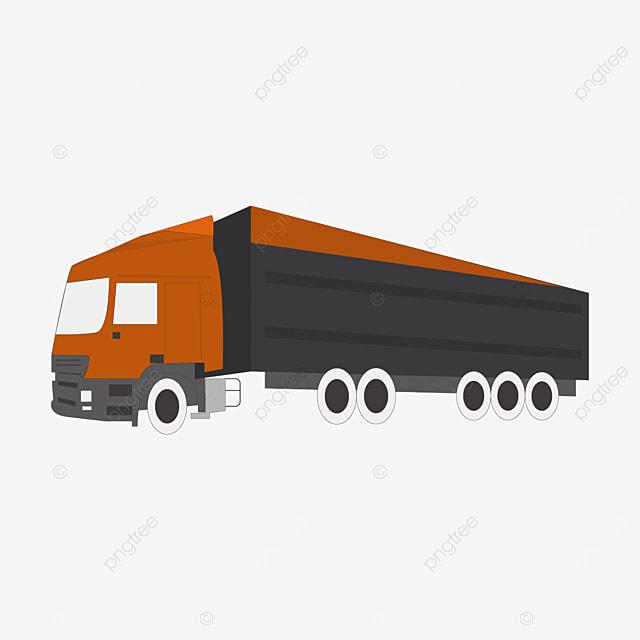 extended truck clip art