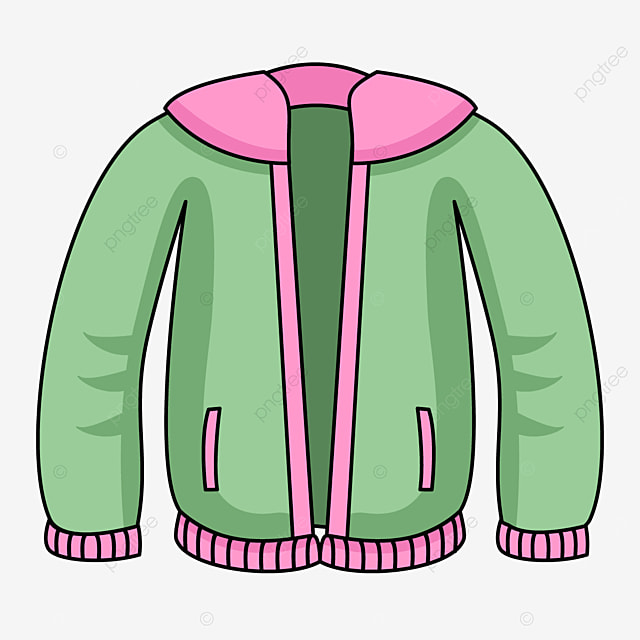 fashion jacket simplified painting