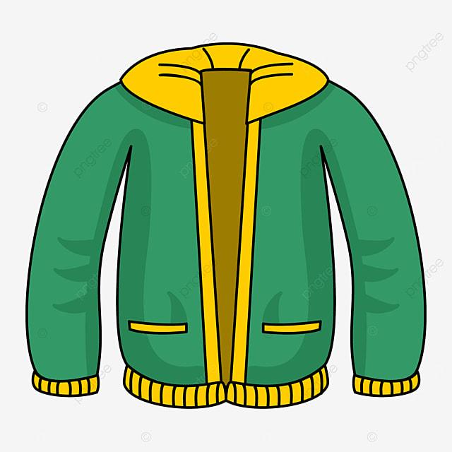 green jacket clip art