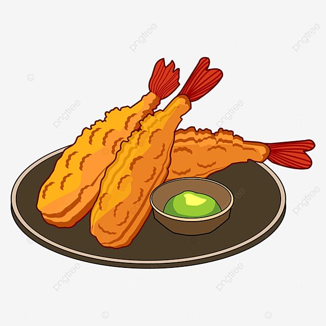 japanese prawn tempura