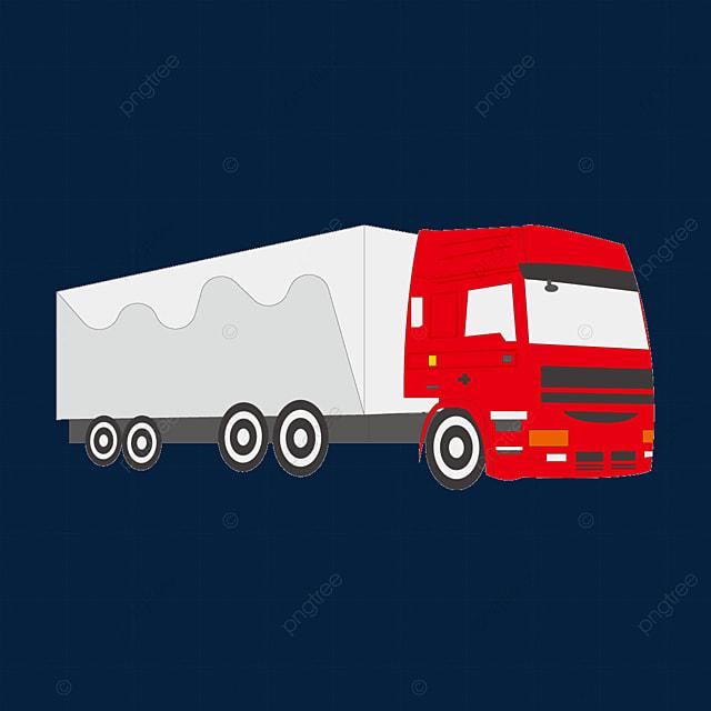 loading truck large truck clip art