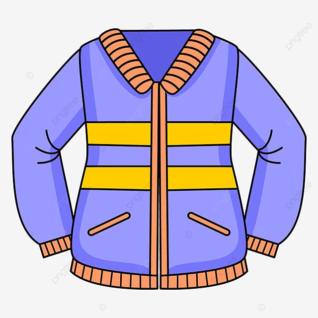 patterned jacket clip art