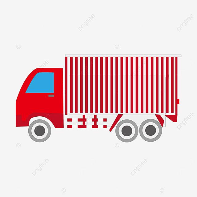 red gray truck clip art