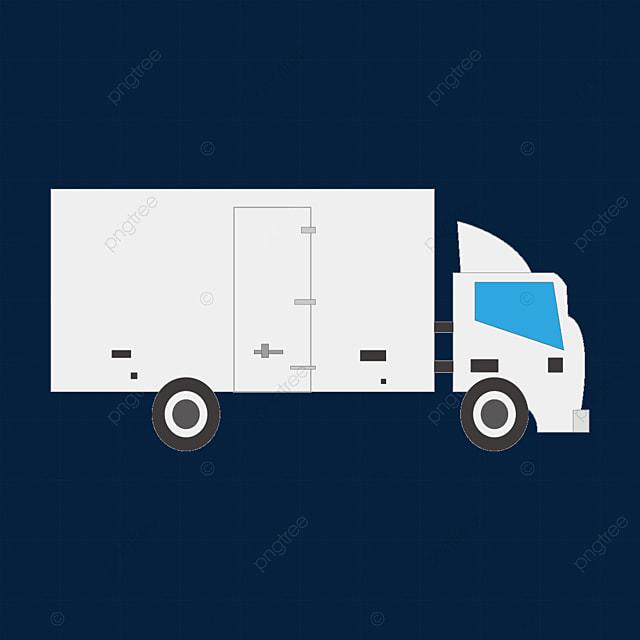 white truck clipart