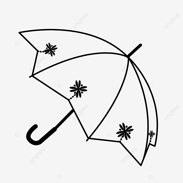 pattern pattern line rule illustration umbrella clipart black and white