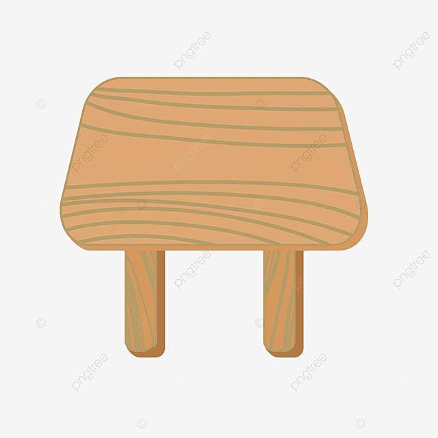 wood clip art brown line