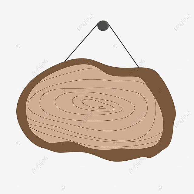 wood grain hanging house clipart