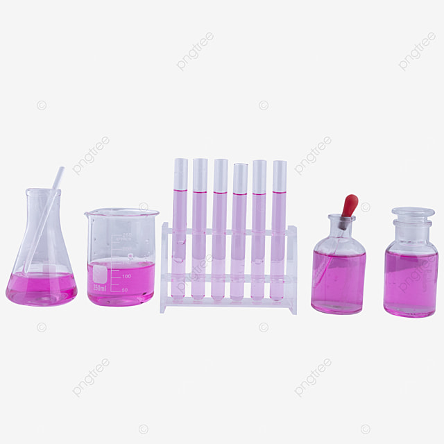 a set of purple chemical drug scientific research instrument combination