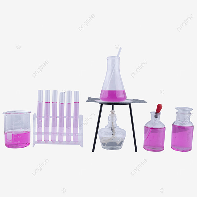 conical flask glass rod alcohol lamp scientific research experiment