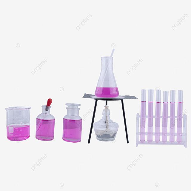 purple potion conical bottle alcohol lamp scientific research experiment