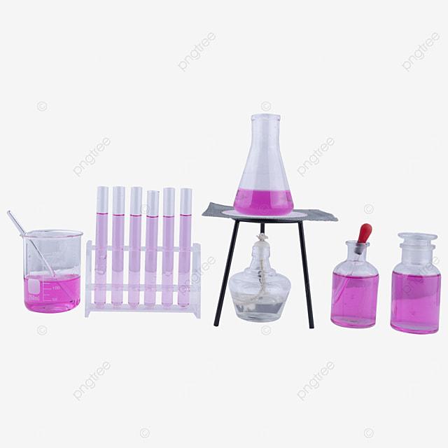 scientific research experiment glass equipment