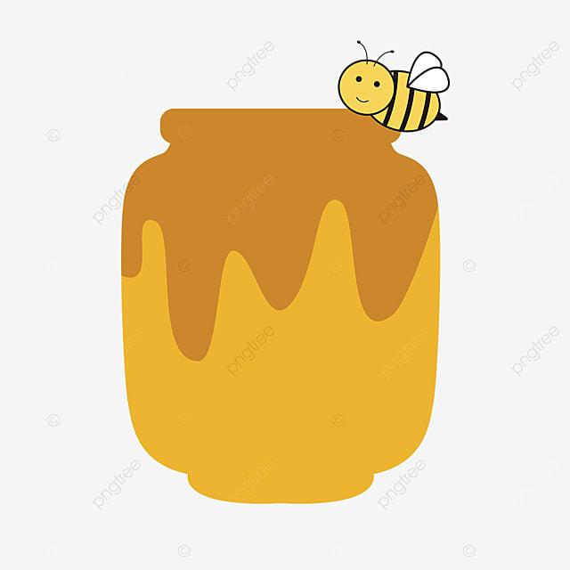 cartoon vector material honey clipart