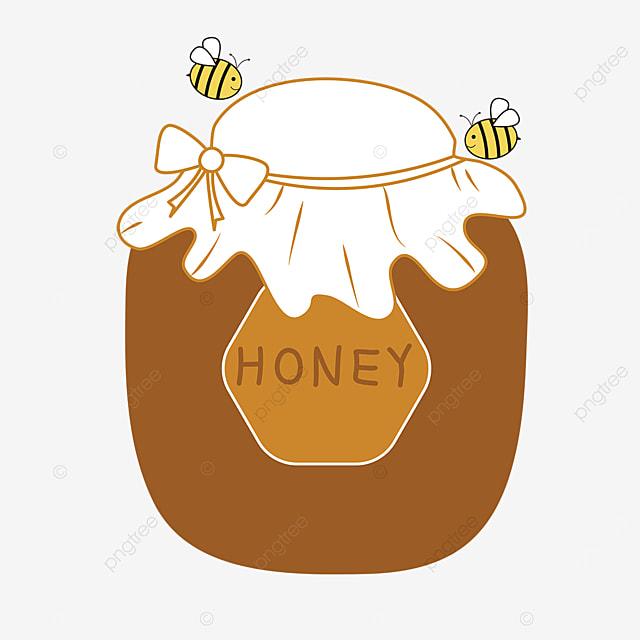 cartoon vector nectar honey clipart